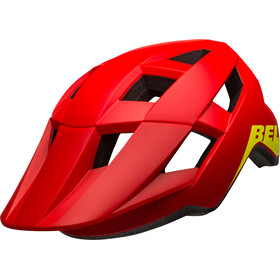 Bell Spark Casque Enfant, matte/gloss red/hi-vis